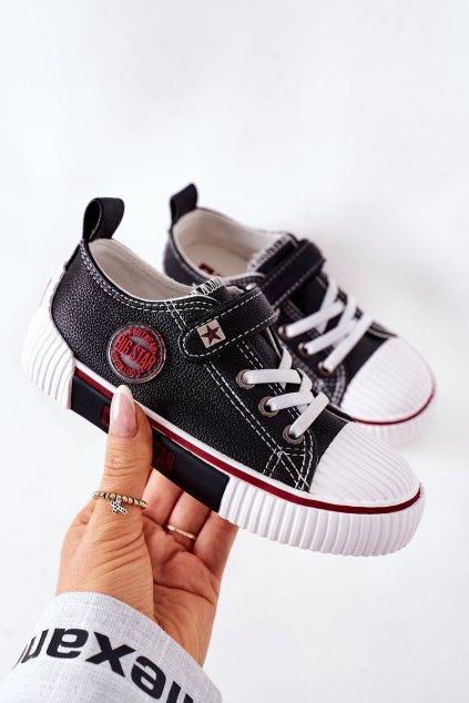 Detské tenisky farba čierna kód obuvi II374042 BLACK