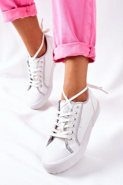 Dámske tenisky farba biela kód obuvi II274055 WHITE