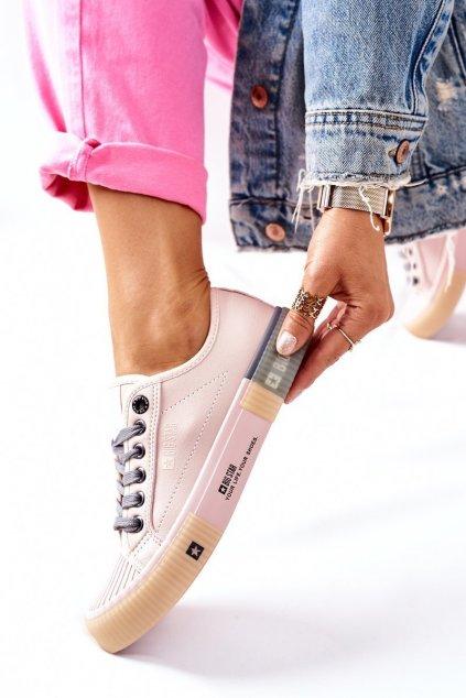 Dámske tenisky farba ružová kód obuvi II274133 PINK