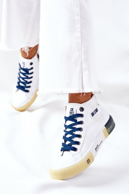 Dámske tenisky farba biela kód obuvi II274137 WHITE