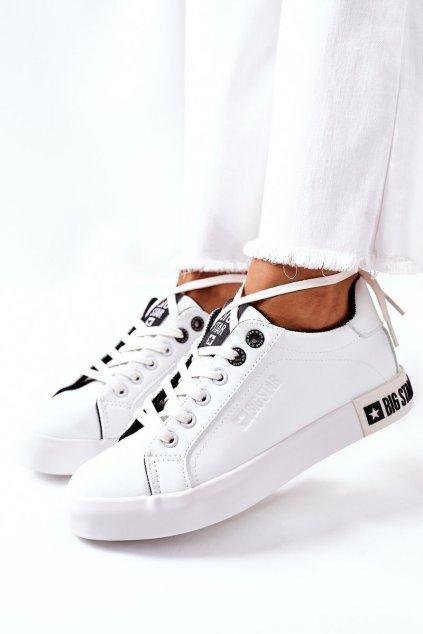 Dámske tenisky farba čierna kód obuvi II274031 WHITE/BLACK