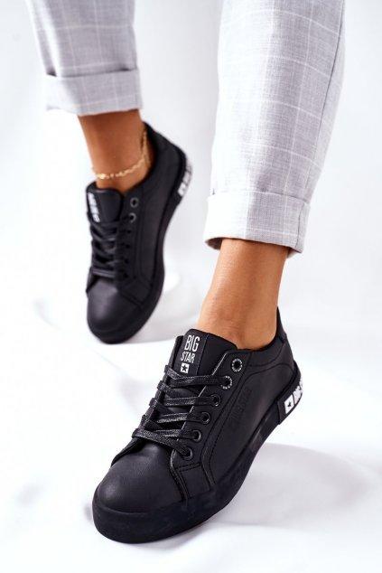 Dámske tenisky farba čierna kód obuvi II274030 BLACK