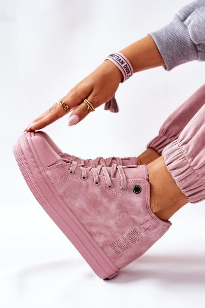 Dámske tenisky farba ružová kód obuvi II274092 PINK