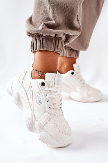 Dámske tenisky farba biela kód obuvi II274359 WHT
