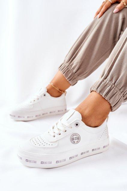 Dámske tenisky farba biela kód obuvi II274075 WHT
