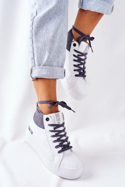 Dámske tenisky farba biela kód obuvi II274144 WHT/GREY