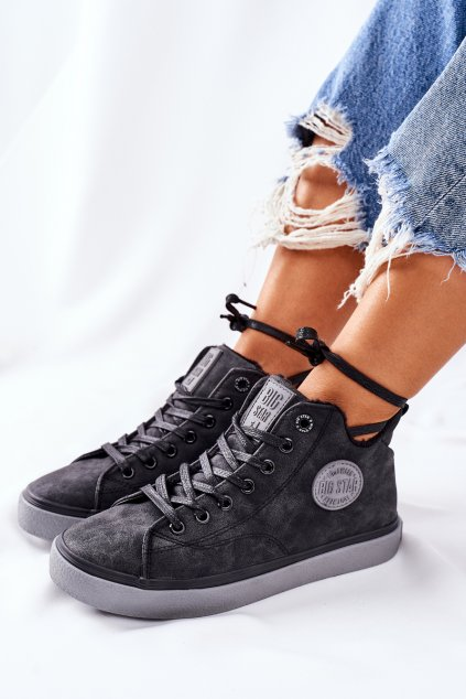Dámske tenisky farba čierna kód obuvi II274148 BLK