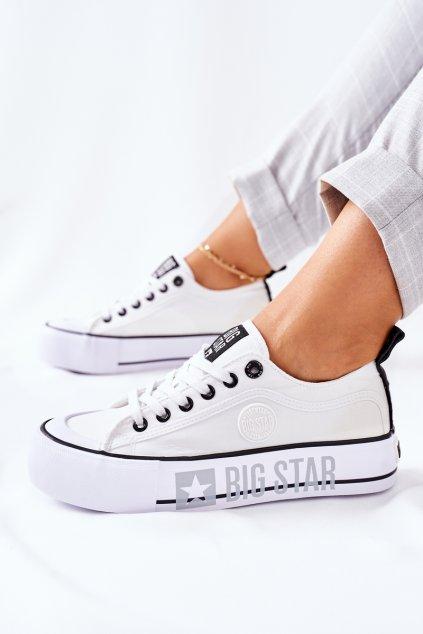Dámske tenisky farba biela kód obuvi II274021 WHITE