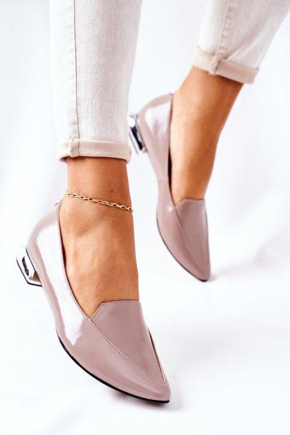 Dámske mokasíny farba hnedá kód obuvi 2013 620 CAPPUCCINO