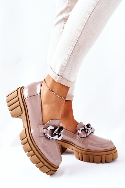 Dámske poltopánky farba hnedá kód obuvi 2339 620 CAPPUCCINO