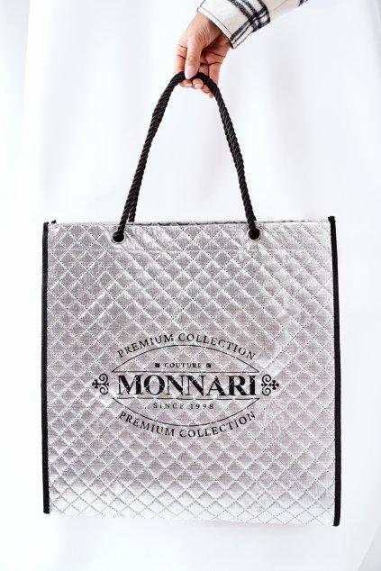 Sivá dámská Taška Shopper Monnari NBAG0030-022