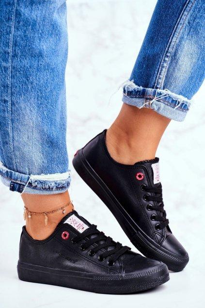 Dámske tenisky farba čierna kód obuvi DD2R4029 BLK