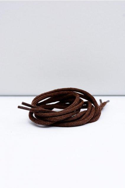 Šnúrky do topánok farba hnedá kód BRĄZOWE OKR. GRUBE