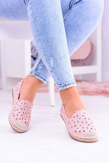 Dámske tenisky farba ružová kód obuvi 2018-B6 PINK