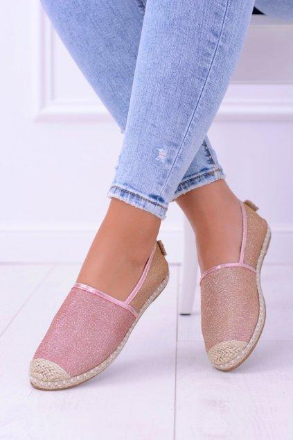 Dámske tenisky farba ružová kód obuvi 2870-1 ROSE GOLD