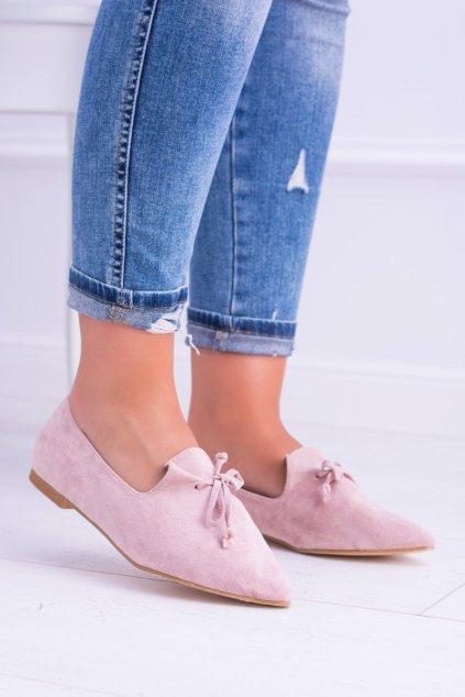 Dámske balerínky farba ružová kód obuvi 978-A8 PINK
