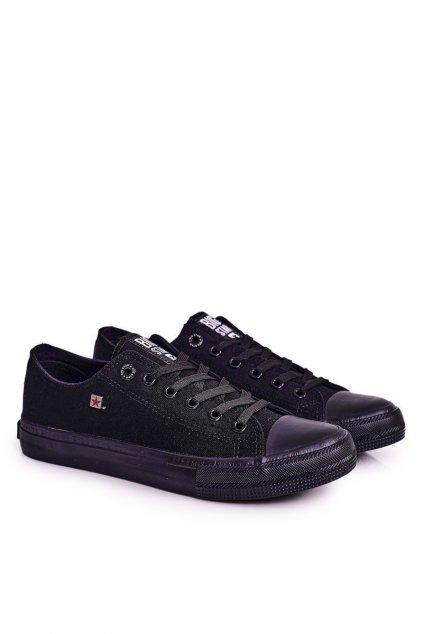 Čierna obuv kód topánok AA174009 BLK