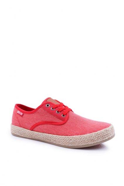 Červená obuv kód topánok DD174173 RED