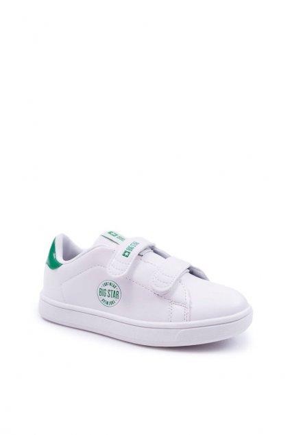 Detské tenisky farba biela kód obuvi DD374029 WHITE