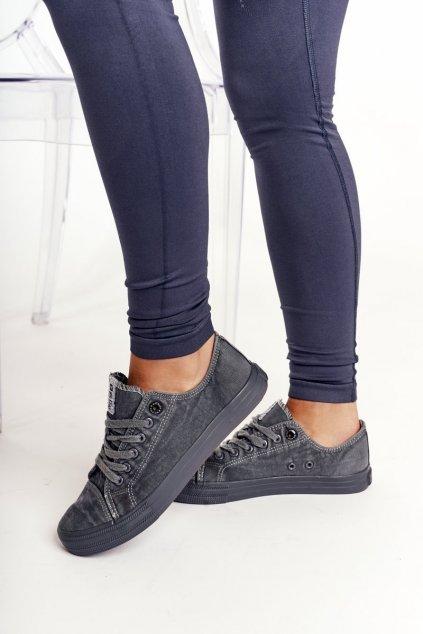 Dámske tenisky farba sivá kód obuvi DD274440 D.GREY