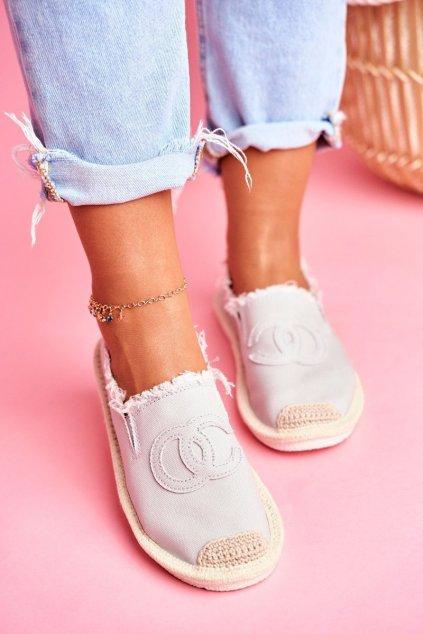 Dámske tenisky farba sivá kód obuvi NB273 GREY