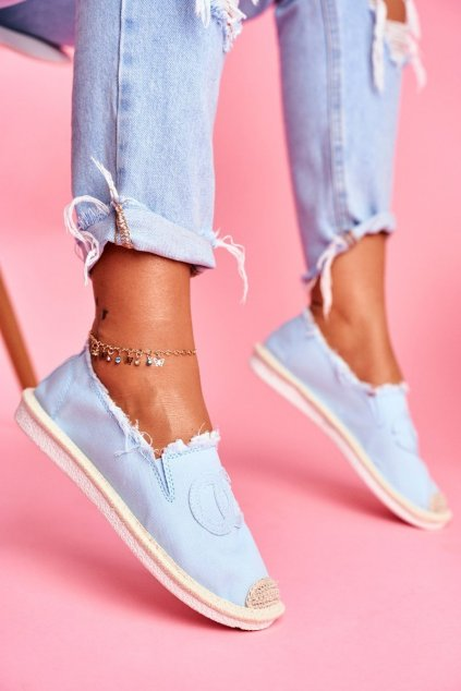 Dámske tenisky farba modrá kód obuvi NB273 L.BLUE