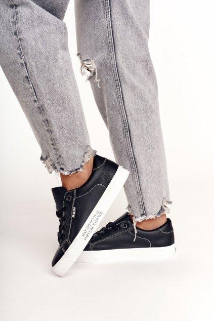 Dámske tenisky farba čierna kód obuvi EE274315 BLK