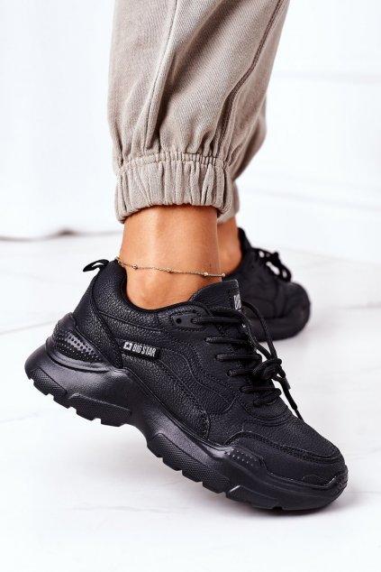 Dámske tenisky farba čierna kód obuvi EE274462 BLK