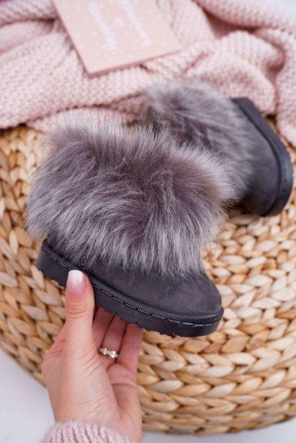 Sivá obuv kód topánok 20203-C GREY
