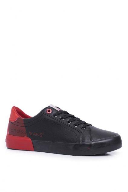 Čierna obuv kód topánok EE1R4046C BLK/RED