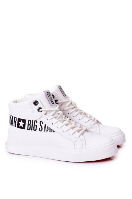 Biela obuv kód topánok EE174340 WHITE