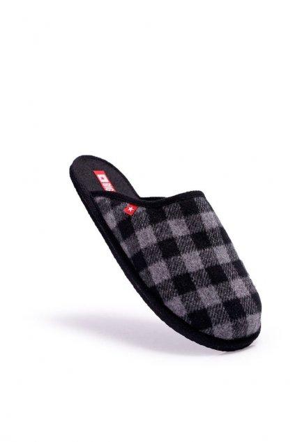 Pánske šľapky farba sivá kód obuvi EE176002 GREY