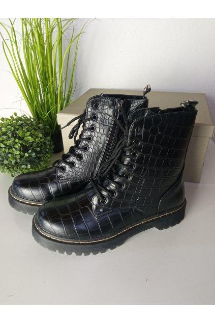 Čierne workery NJSK LT103B