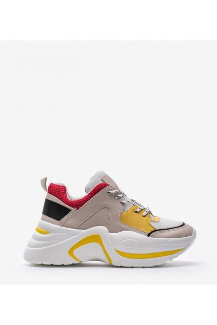 Dámske topánky tenisky hnedé kód - GM