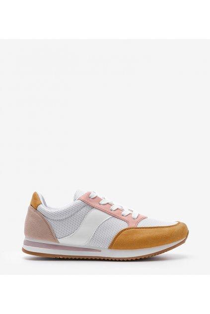 Dámske topánky tenisky žlté kód SC26F - GM