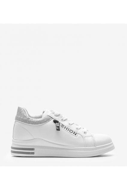 Dámske topánky tenisky biele kód LDH001 - GM