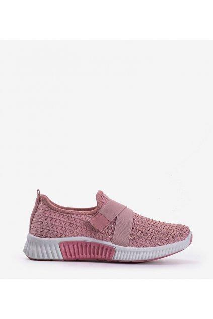 Dámske topánky tenisky ružové kód C029 ROSA - GM