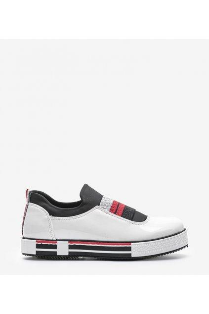Dámske topánky tenisky biele kód Z-9775 - GM