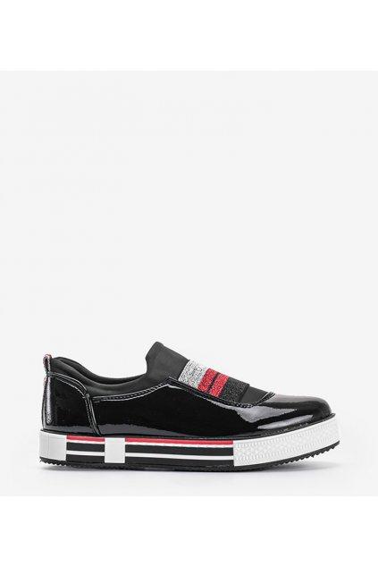 Dámske topánky tenisky čierne kód Z-9775 - GM