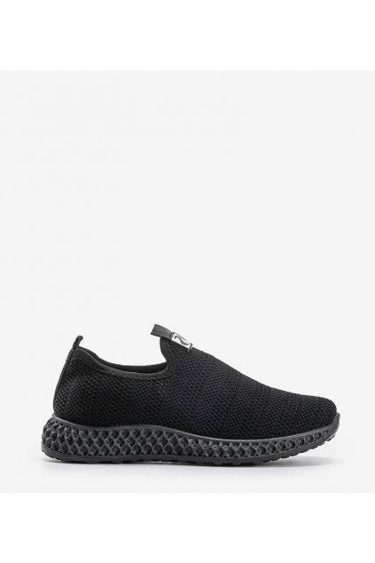 Dámske topánky tenisky čierne kód C096 NEGRO - GM