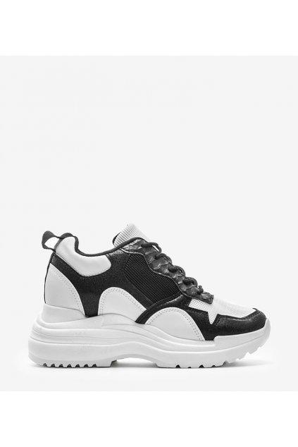 Dámske topánky tenisky biele kód 3171 - GM