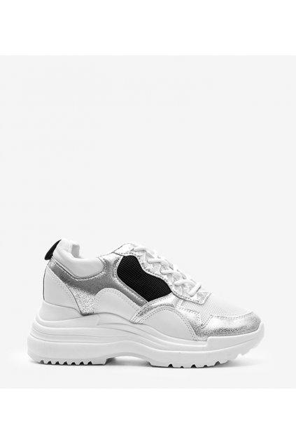Dámske topánky tenisky sivé kód 3171 - GM
