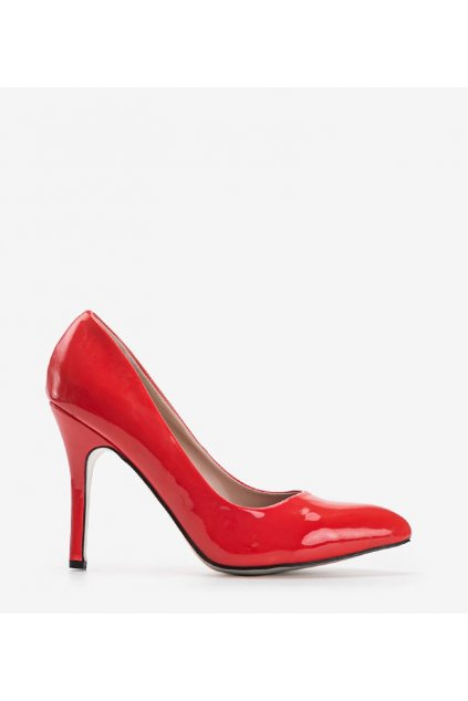 Dámske topánky lodičky červené kód LL31 - GM
