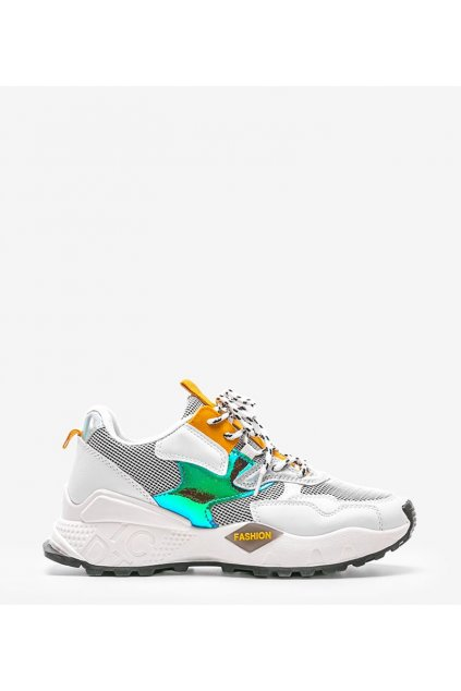 Dámske topánky tenisky biele kód BO-508 - GM