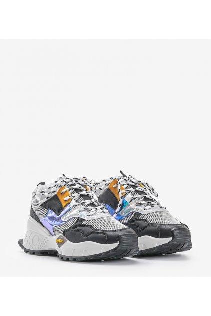 Dámske topánky tenisky čierne kód BO-508 - GM