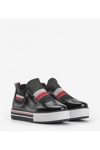 Dámske topánky tenisky čierne kód Z-9778 - GM