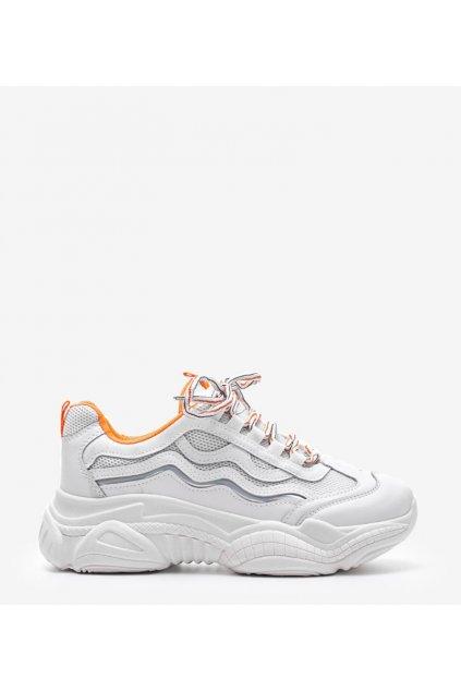 Dámske topánky tenisky biele kód G-236 - GM