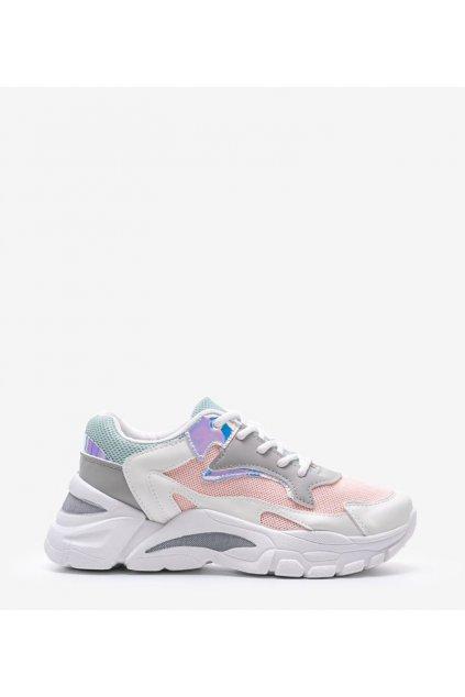 Dámske topánky tenisky ružové kód YL-25 - GM