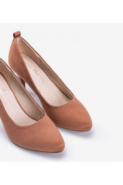 Dámske topánky lodičky ružové kód S9042-59 - GM