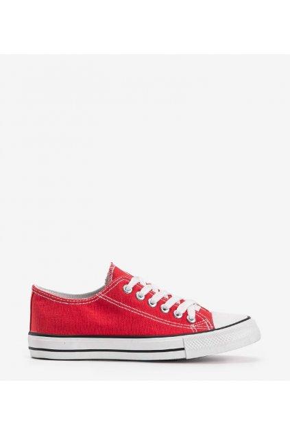 Dámske topánky tenisky červené kód LD8A07 - GM